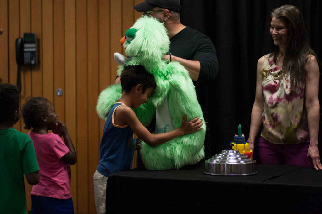 Make and Greet with Puppet